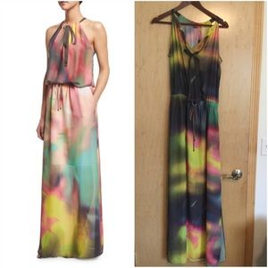a19ce24b7874 Elie Tahari Dresses - Elie TahariYork Sleeveless Watercolor Maxi Dress,